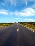 Na estrada outra vez Imagem de Stock
