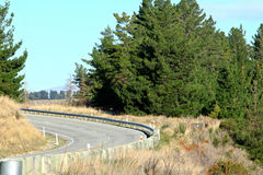 Na estrada a Queenstown, ilha sul Nova Zelândia Fotografia de Stock Royalty Free