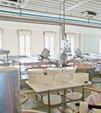 Na fábrica de queijo Imagem de Stock Royalty Free