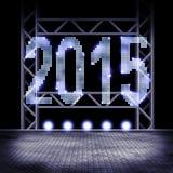 2015 na fase Fotografia de Stock Royalty Free