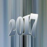 2017 na fase Foto de Stock