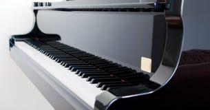 na fortepianie Zdjęcia Royalty Free