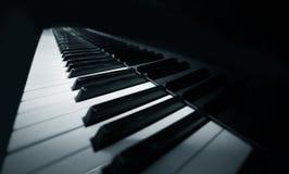 na fortepianie Obrazy Stock
