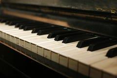 na fortepianie Zdjęcia Stock