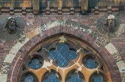 Na frente da igreja de Cristo, em Hampstead Heath foto de stock royalty free