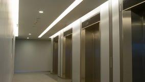 Na frente dos elevadores Imagem de Stock Royalty Free