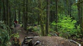 na górę wzgórza kolarstwa, zdjęcie wideo