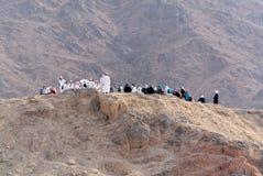 Na górze łuczniczki wzgórza w Medina artykule wstępnym Zdjęcie Royalty Free