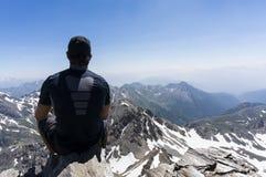Na górze мира Стоковая Фотография RF