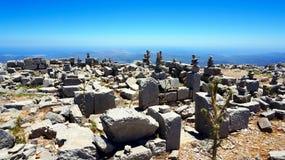 Na górze halnego Ataviros Fotografia Stock