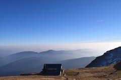 Na górze Mountain View Стоковые Фотографии RF