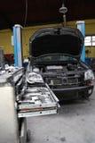 Na garagem Imagens de Stock