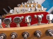 na gitarze Obrazy Stock