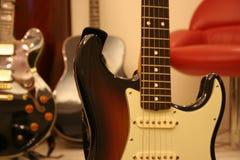 na gitarze Zdjęcia Stock