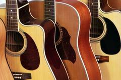 na gitarze Zdjęcie Stock