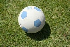 na gumowej piłki nożnej Obraz Royalty Free