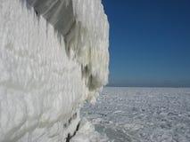 Na het ijsonweer Royalty-vrije Stock Afbeelding