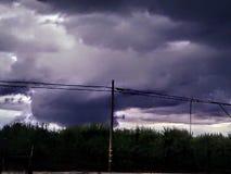 Na het onweer stock foto