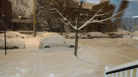 Na het Onweer van de Sneeuw stock afbeelding