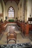 Na igreja Imagens de Stock