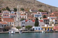 Na ilha de Halki fotos de stock