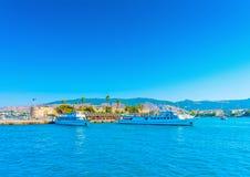 Na ilha de Kos em Grécia Fotos de Stock