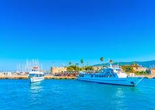 Na ilha de Kos em Grécia Foto de Stock Royalty Free