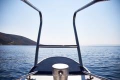 Na jachcie w Croatia Fotografia Stock