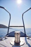 Na jachcie w Croatia Zdjęcie Royalty Free