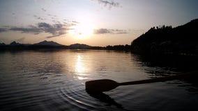 Na jeziorze Zdjęcia Royalty Free