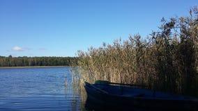 Na jeziorze Obrazy Royalty Free