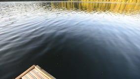 Na jeziorze zbiory