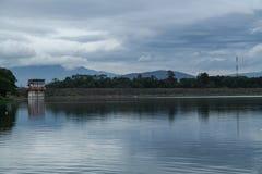 Na jeziorze, wersja 4 obrazy royalty free