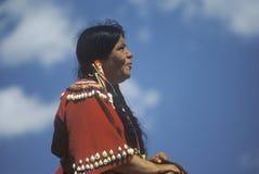 Na kobieta rodowity Amerykanin kobieta Fotografia Stock