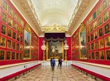 1812na kriger gallerit Fotografering för Bildbyråer