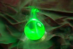 na kryształ green Obrazy Stock