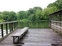 Na lagoa da tartaruga no Central Park Imagens de Stock