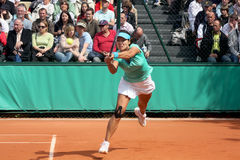 Na Li in Roland Garros. 2010 Royalty Free Stock Image