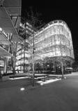 Na londonââ¬â¢s nowożytna architektura Thames Obrazy Stock