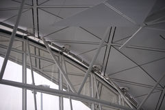 na lotnisko 1 hk Zdjęcie Royalty Free