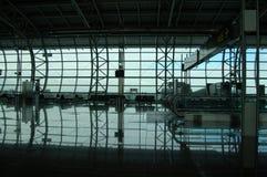 na lotnisko Obrazy Royalty Free