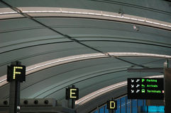na lotnisko Obrazy Stock