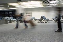 na lotnisko Zdjęcia Royalty Free