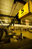 na lotnisko Fotografia Royalty Free