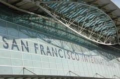na lotnisko San Francisco Zdjęcie Stock
