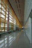 na lotnisku międzynarodowym Beijing t 3 Obraz Royalty Free