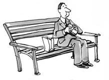 na lunch ilustracja wektor