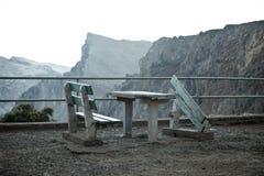 Na Madeira punkt obserwacyjny mokry punkt Obrazy Stock