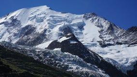 Na maneira a Mont Blank, França, Europa foto de stock