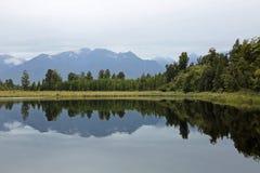 Na Matheson jeziorze Zdjęcie Royalty Free
